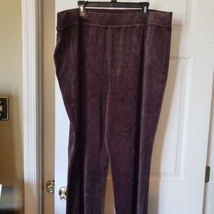 Brand new denim & company velour pants